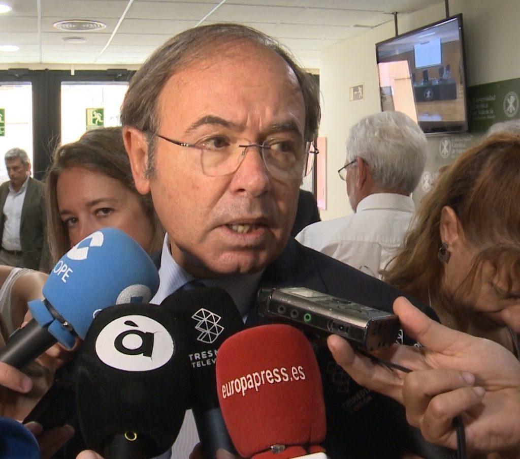 García Escudero, «partidario» de mantener la «unidad» del partido y cree que los candidatos trabajan para ello