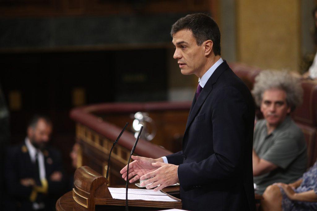 Pedro Sánchez informará mañana al Congreso de su programa de gobierno un mes y medio después de llegar a La Moncloa