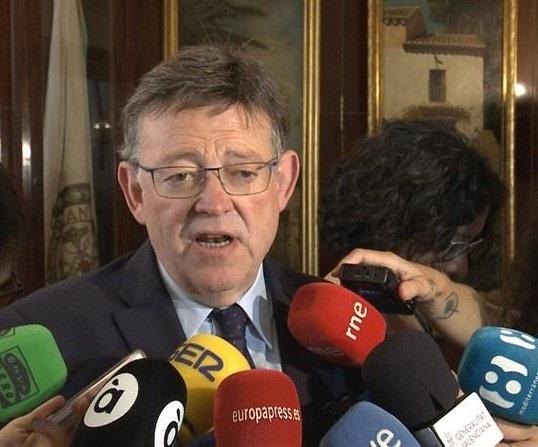 Puig expresa su «absoluto desacuerdo» con borrador en defensa del agua de C-LM y ve «irrenunciable» el Tajo-Segura