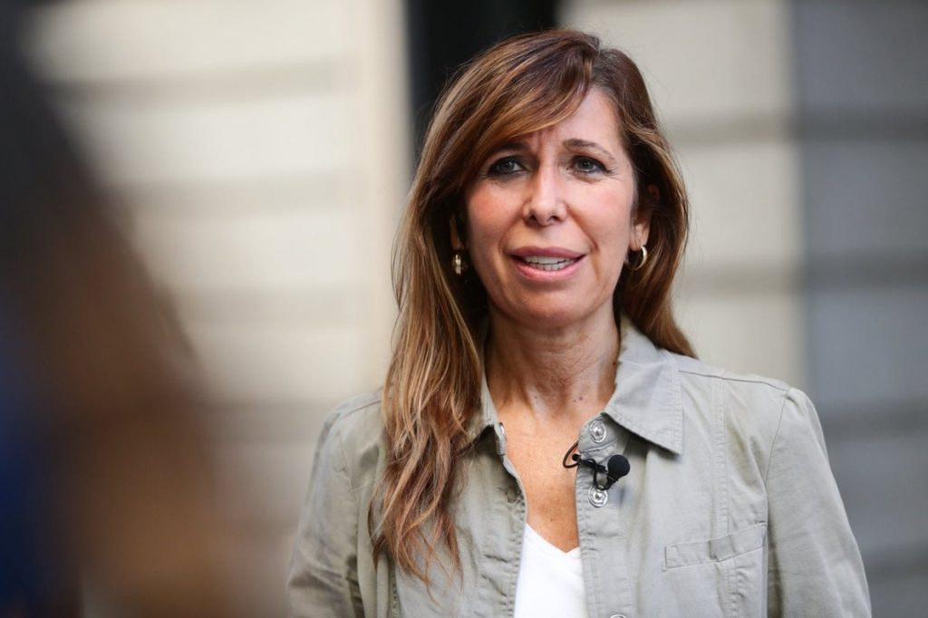 Sánchez-Camacho, que apoyó a Cospedal, cree que Santamaría es ahora «la mejor» para liderar la lista de unidad