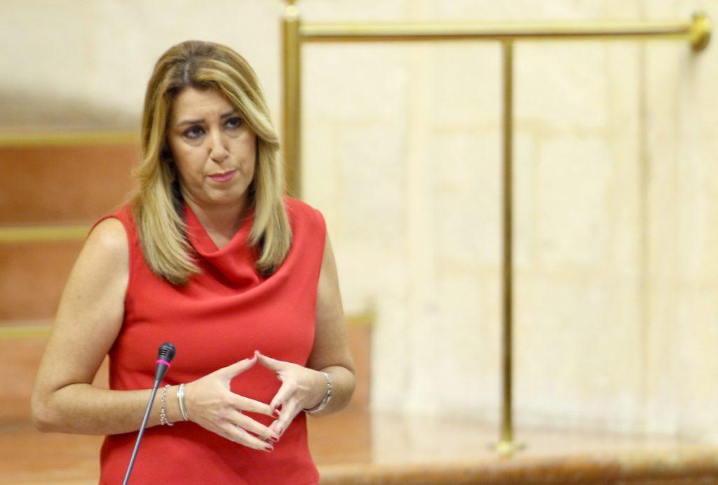 Susana Díaz afea a Rivera que lleve «cinco días atacando» a Gobierno andaluz: «Ya está bien de tantas faltas de respeto»