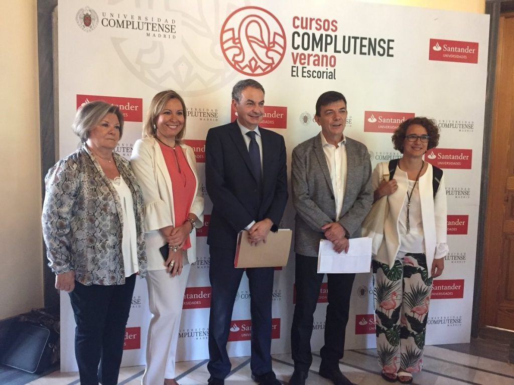 Zapatero, sobre Casado: «No sería bueno un retroceso en materia de ideas, de derechos y libertades»