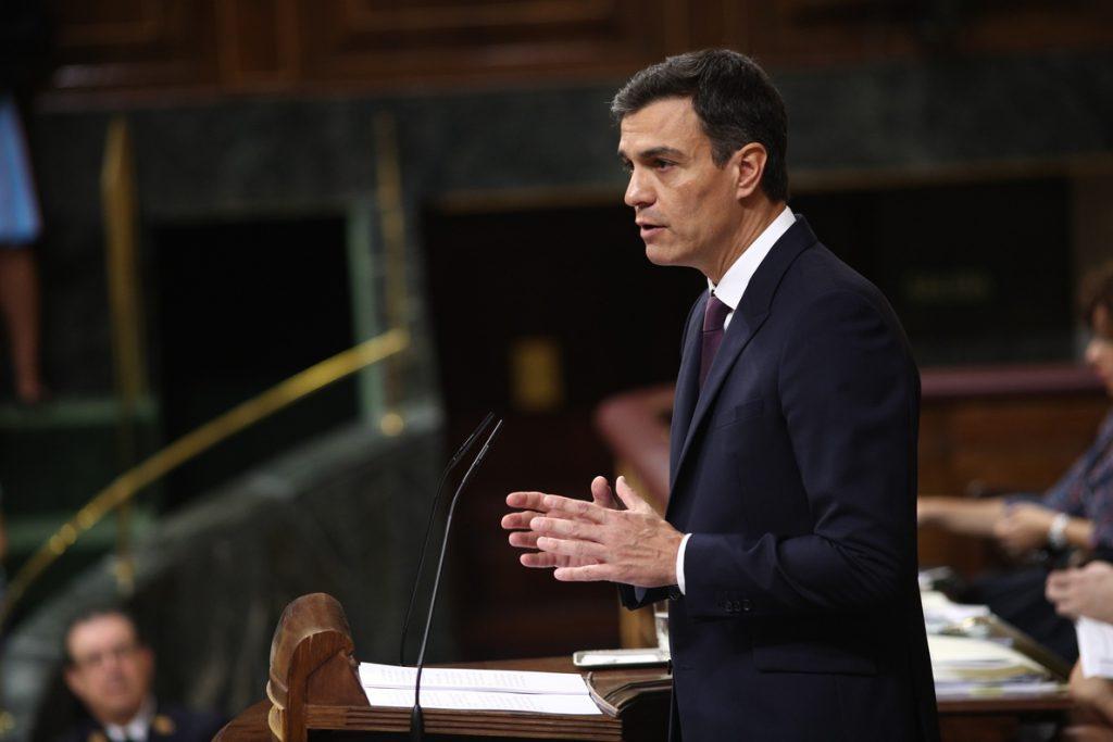 (AMP)Sánchez apuesta por «rediseñar» el Impuesto de Sociedades y que grandes empresas tributen al menos al 15%