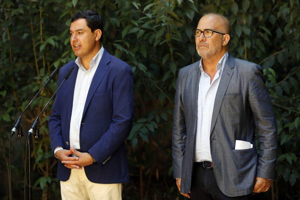 Moreno dice que es la Macarena «la que tiene que tomar las decisiones que crea oportunas» sobre Queipo