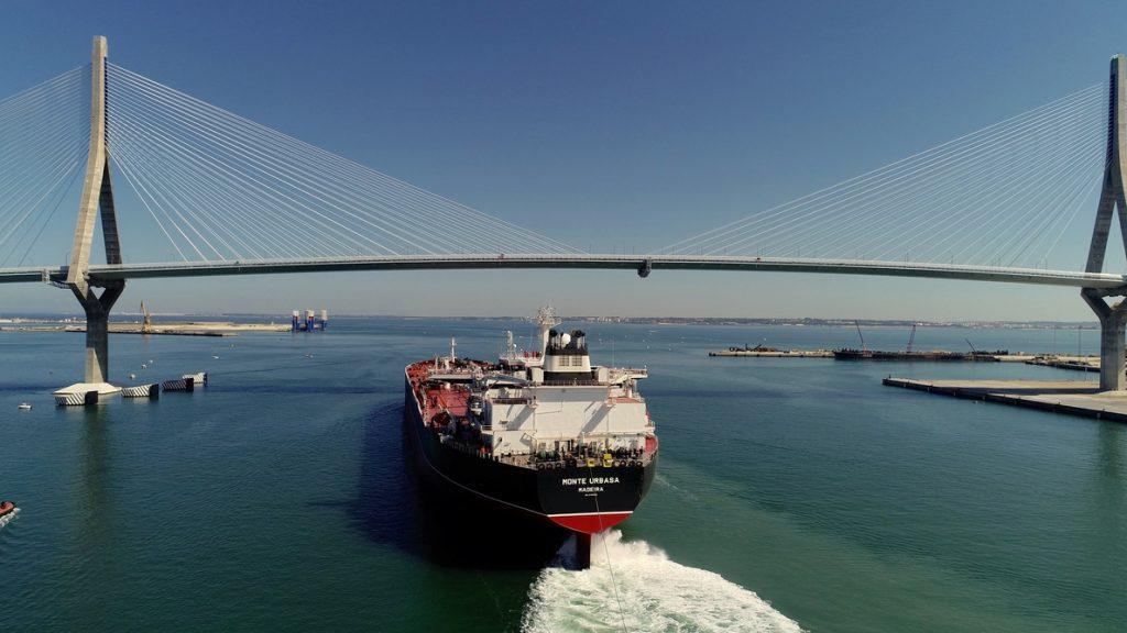 Navantia entrega el segundo de los petroleros Suezmax construido en los astilleros de Puerto Real (Cádiz)