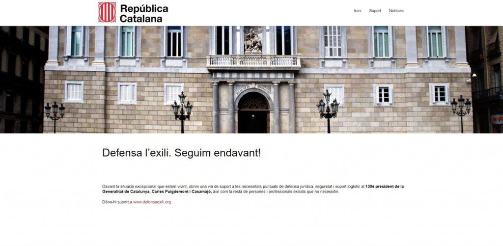 El PSC insta al Govern a tomar acciones legales contra el 'Govern de la República' que utiliza Puigdemont