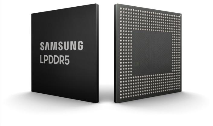 Samsung desarrolla la primera memoria LPDDR5 DRAM para móviles, que alcanza los 8 gigabits y soporta 5G