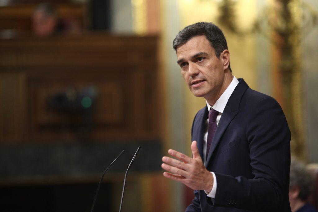 Sánchez garantiza que habrá una transición energética «justa» con las cuencas mineras asturianas