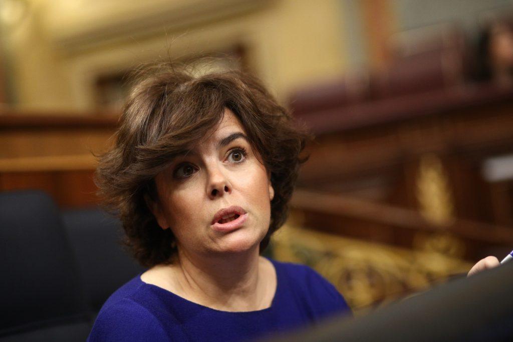 Santamaría lanza «Ahora una mujer», un vídeo protagonizado por mujeres del PP a favor de su candidatura