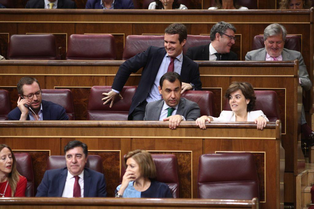 . Santamaría y Casado se ven en 'Génova' pero no llegan a un acuerdo para una lista única antes del congreso