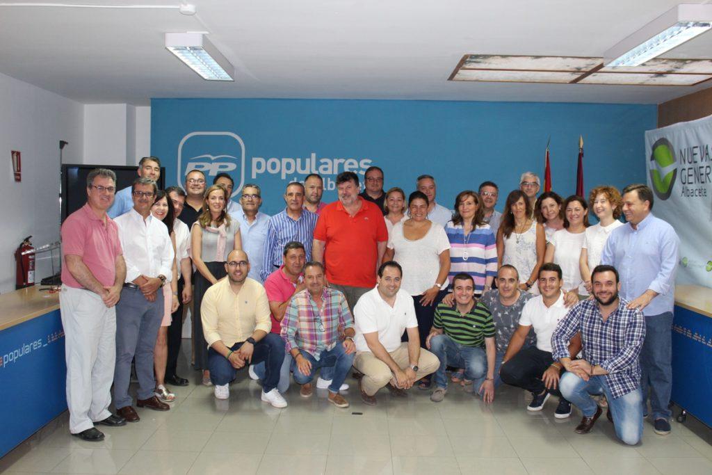 El «grueso» de los 48 compromisarios del PP Albacete manifiestan su «apoyo expreso» a la candidatura de Casado