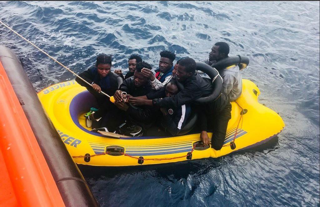 Las llegadas por mar a Europa superan las 50.000 con España a la cabeza como país de destino
