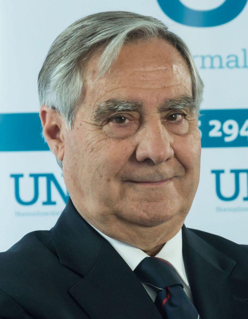 La Asociación Española de Normalización reelige a Carlos Esteban Portal como presidente de la entidad