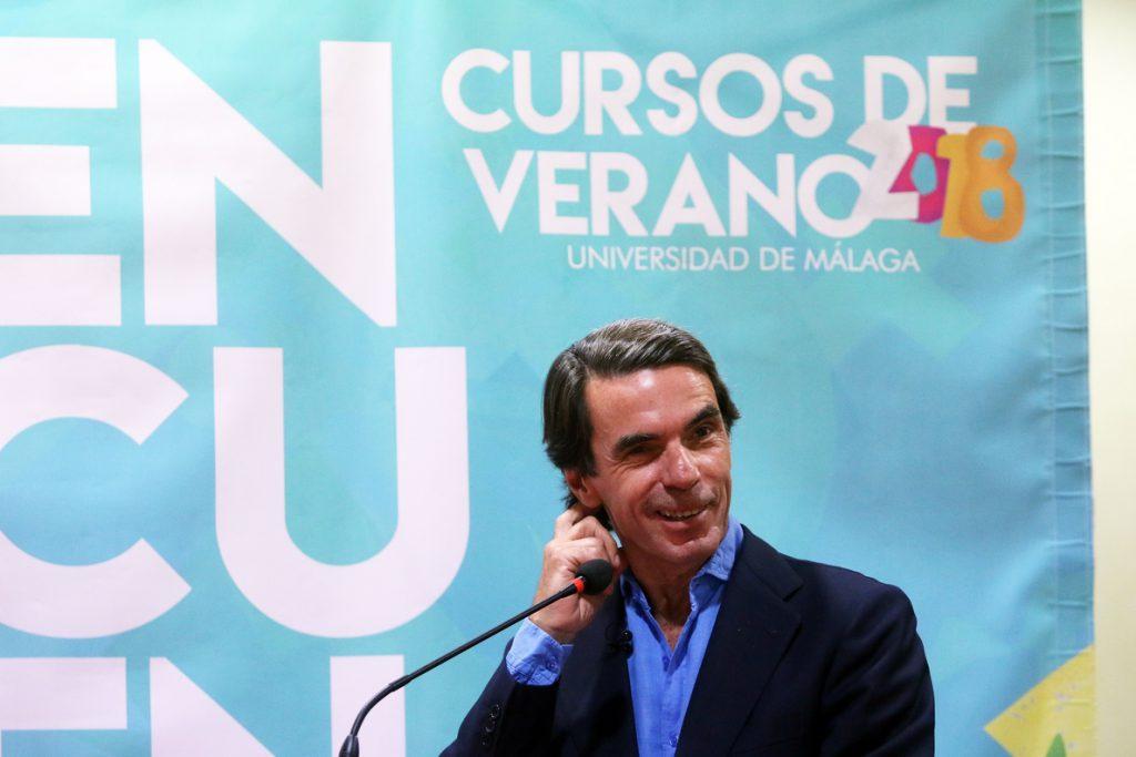 Aznar dice que no está invitado al congreso: «Solo he sido presidente del PP 14 años y del Gobierno ocho»