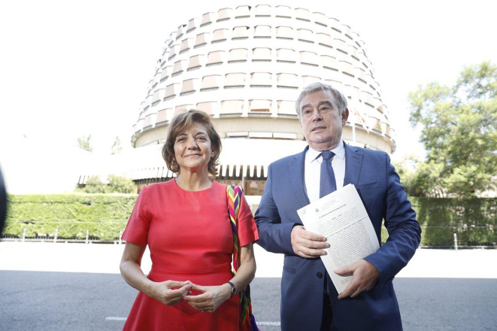 Barreiro pide una lista de unidad siguiendo el modelo gallego y dice que Rajoy trabajó «siempre» por la integración