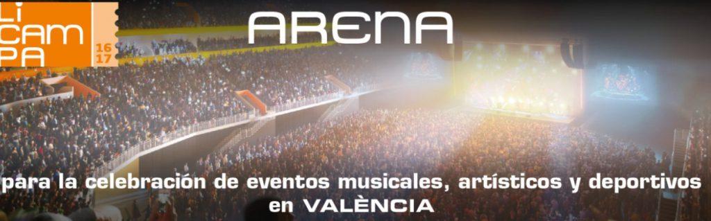 Juan Roig invertirá 192 millones en la construcción del Arena en Valencia