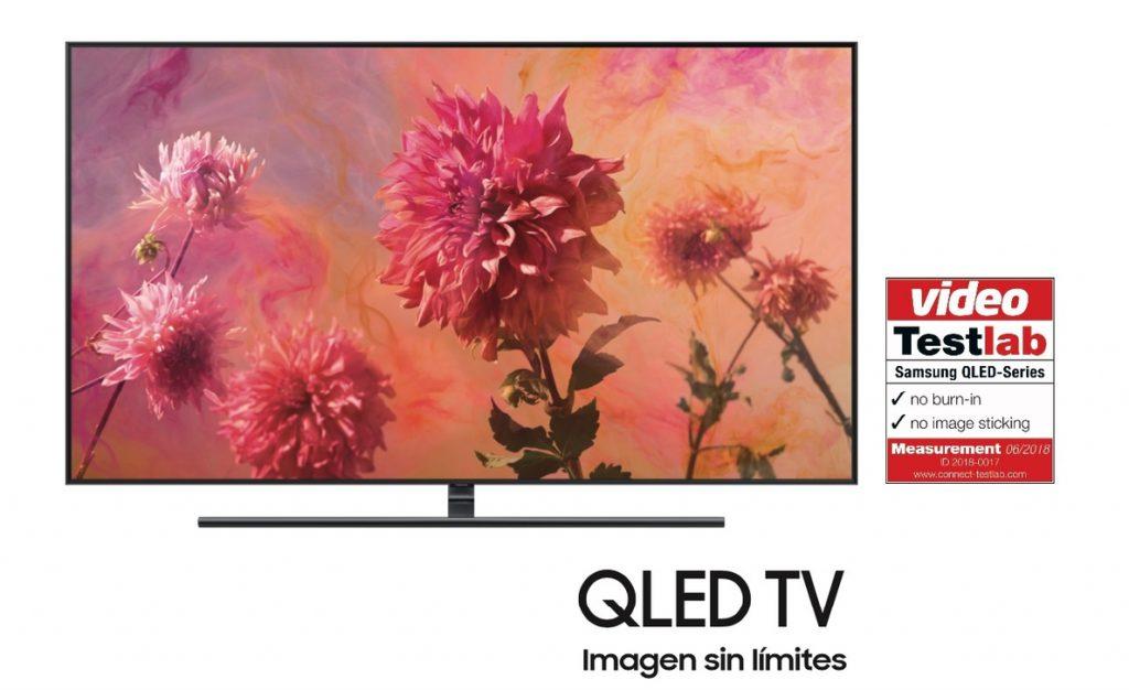 Samsung logra la certificación libre de efecto 'burn-in' en sus televisores QLED TV