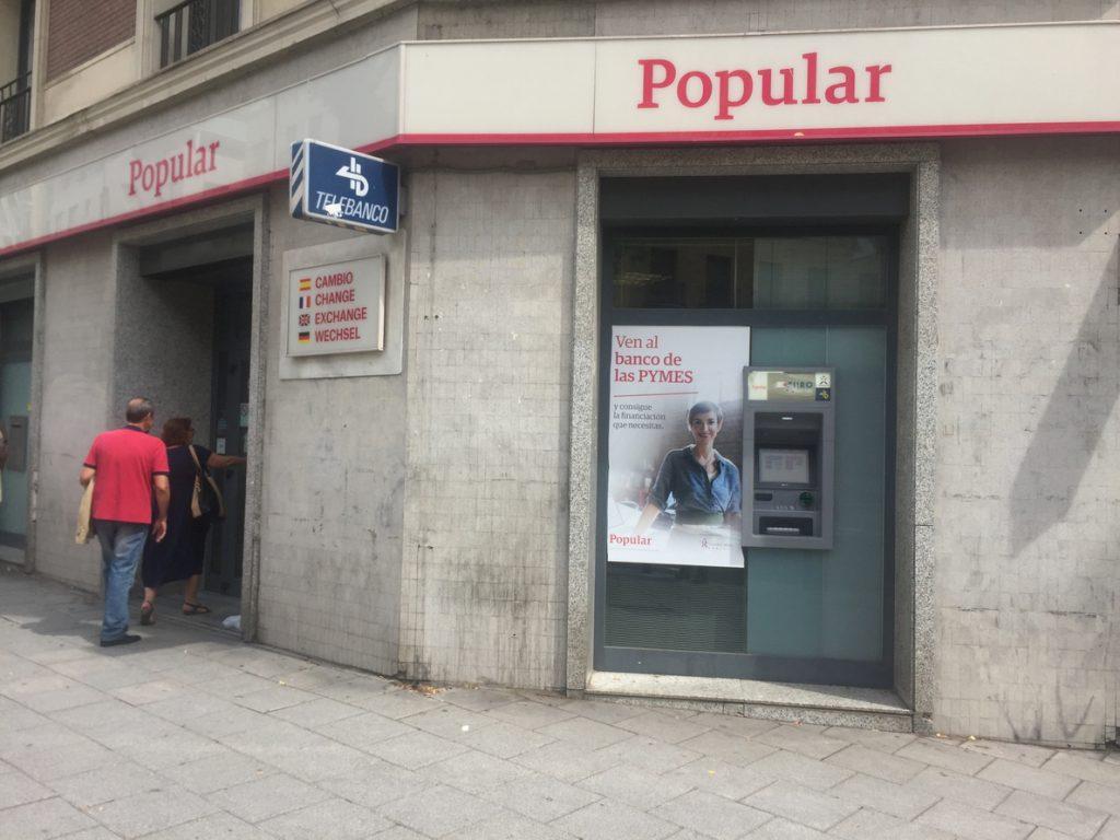 Santander no ha encontrado «inexactitudes ni falsedades» en las cuentas de Popular de 2016