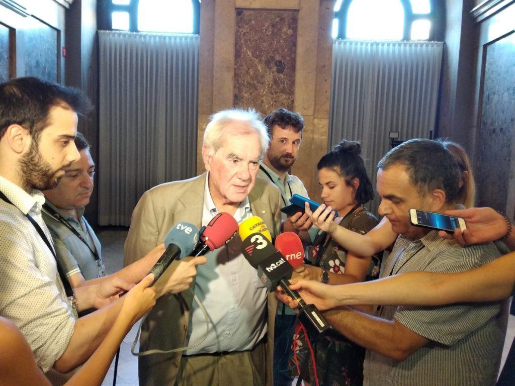 El conseller Ernest Maragall asegura que la unidad y la fortaleza del Govern catalán «no están en riesgo»
