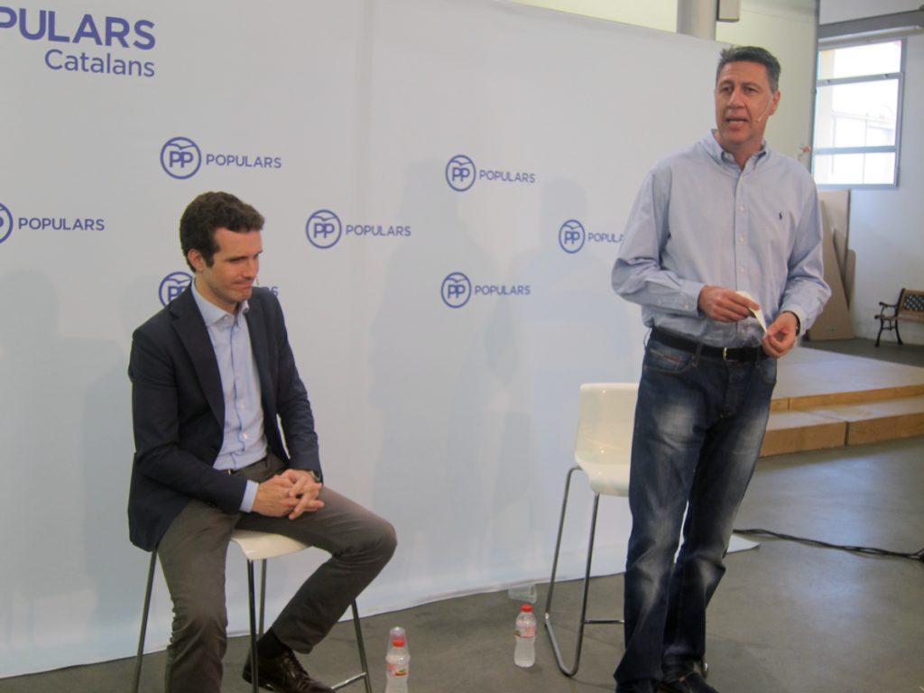 Albiol y Santi Rodríguez apoyan la candidatura de Casado en el congreso de este fin de semana