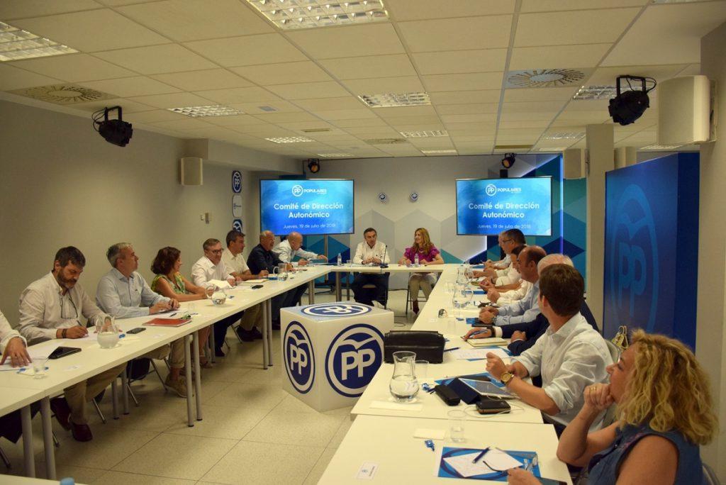 El PP de Aragón apela a la libertad de voto de sus compromisarios para elegir al presidente del partido