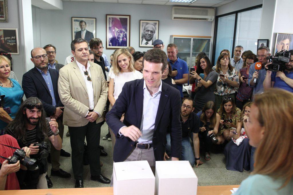 PP-Casado dice que es «el peor candidato para Cs y PSOE» y censura plantear el congreso como «una OT» para las generales