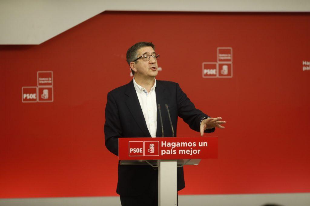 Patxi López afirma que la Constitución necesita «retoques» pero «no para satisfacer a los independentistas»