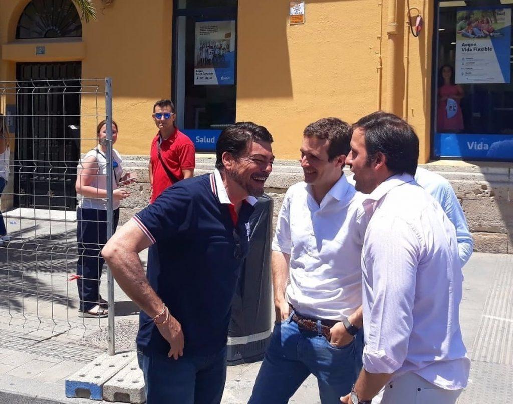 El alcalde de Alicante anuncia que votará por la candidatura de Casado porque es «la mejor opción»