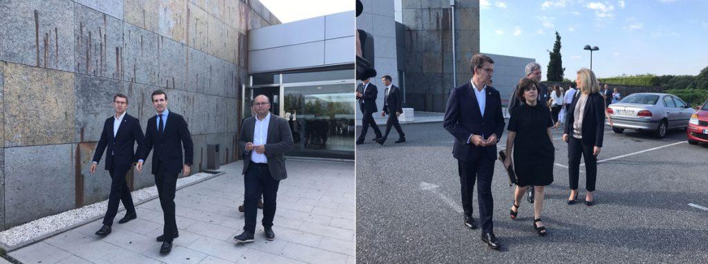 La presidenta del PP de Lugo se mantendrá neutral públicamente, mientras Feijóo sugiere que tampoco revelará su voto