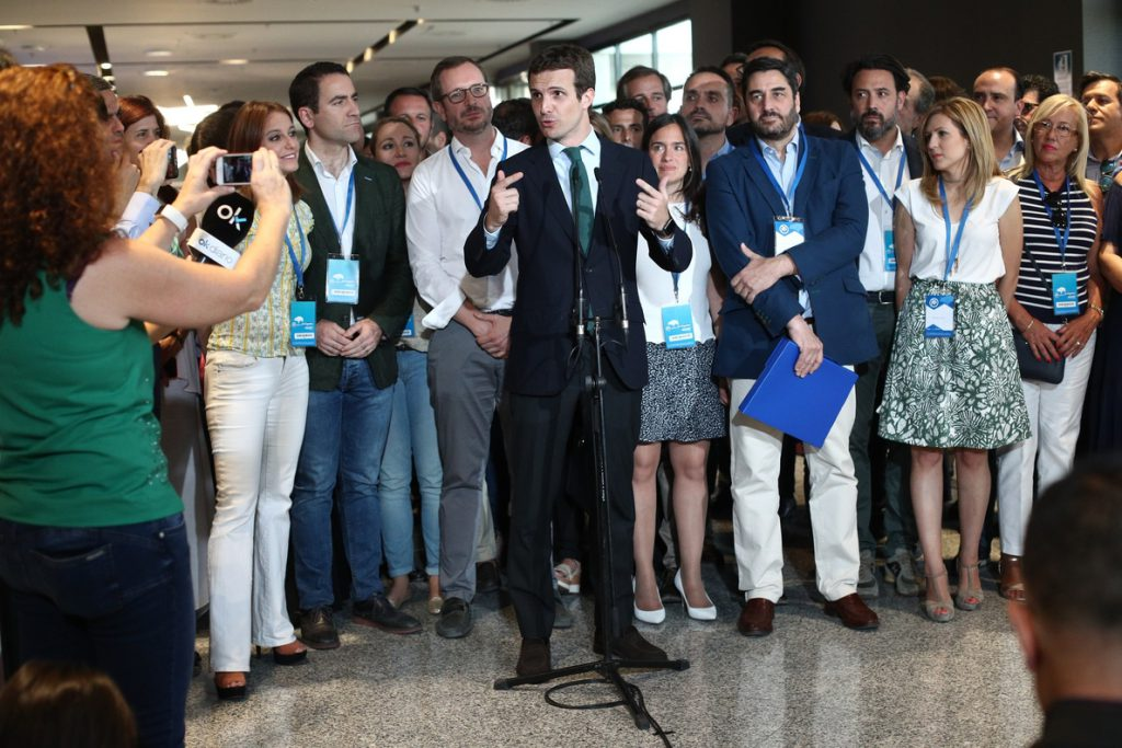 Dignidad y Justicia expresa su apoyo a Pablo Casado y acusa a Santamaría de excarcelar a Bolinaga