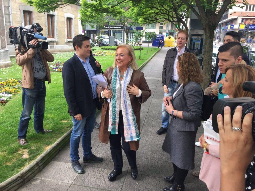 Presidenta PP Asturias anuncia que votará por Sáenz de Santamaría