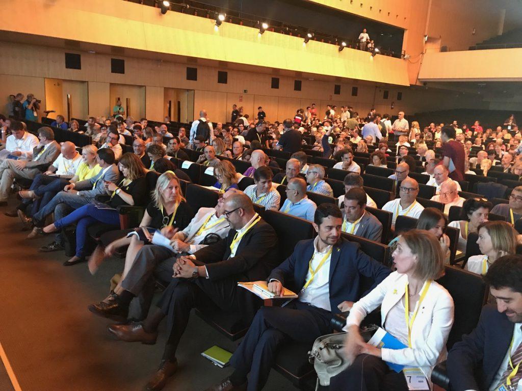 Trias arranca la Assemblea Nacional del PDeCAT llamando a sumarse al nuevo proyecto político impulsado por Puigdemont