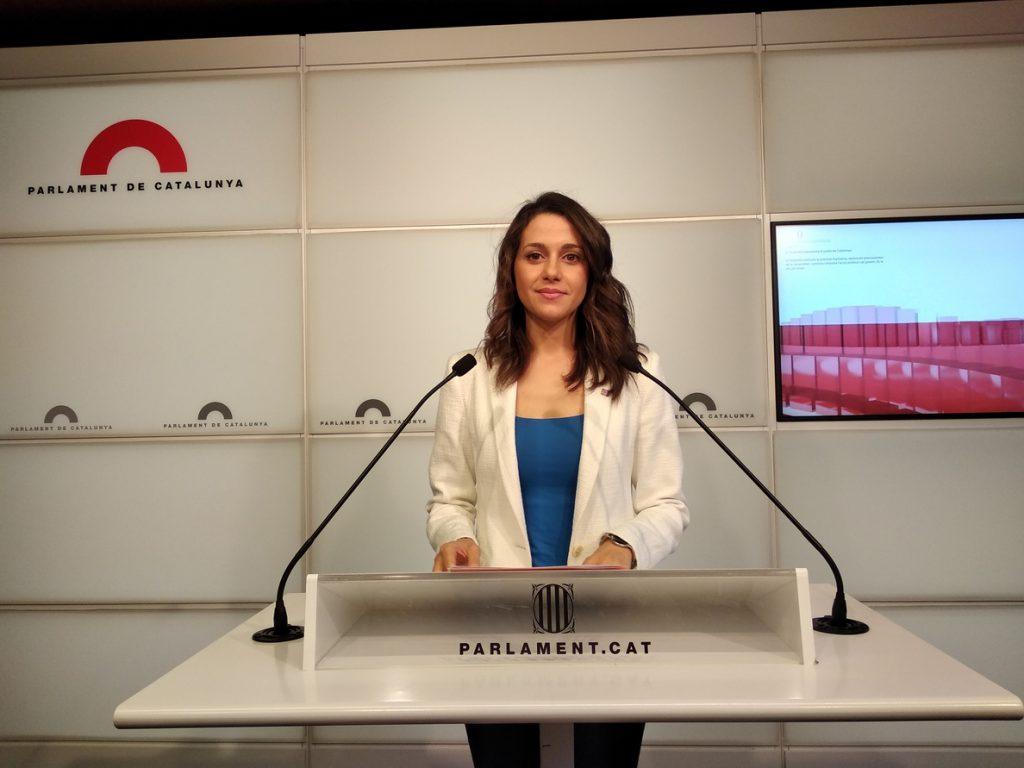 Arrimadas sostiene que el proceso independentista «ha divido también» al PDeCAT