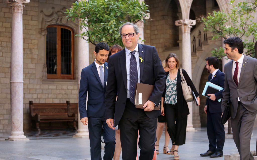 Torra acudirá a la clausura de la Asamblea Nacional del PDeCAT, tras la renuncia de Marta Pascal