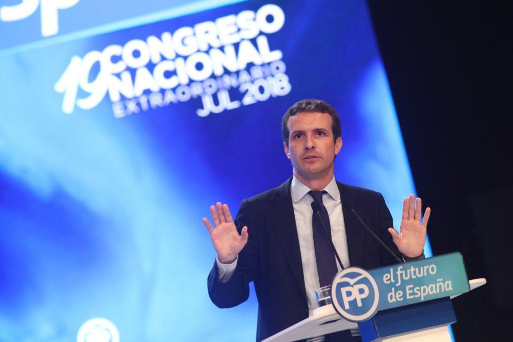 Casado promete integración tras ganar a Santamaría: «No preguntéis a nadie a quién ha votado»