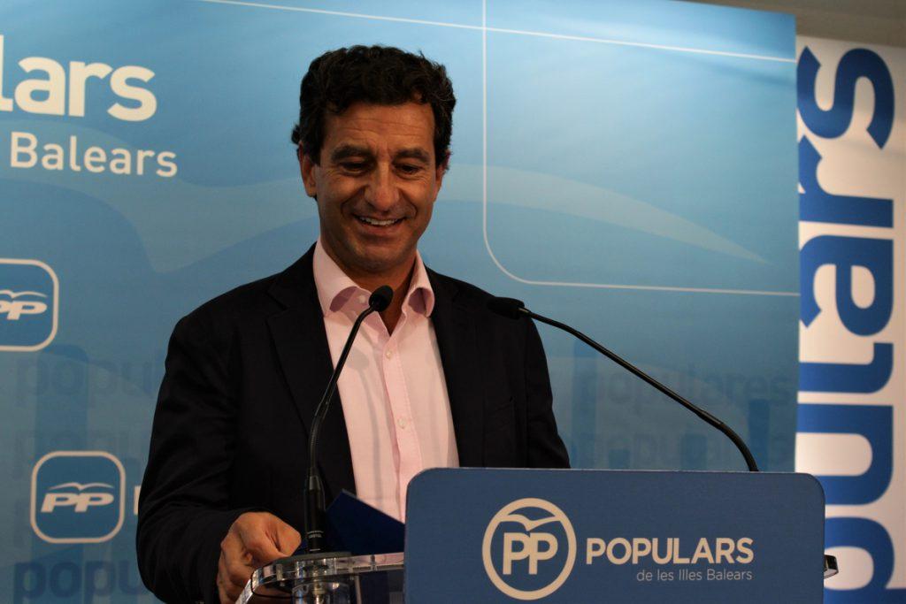 Company se muestra «satisfecho» por la elección de Pablo Casado como nuevo presidente del PP a nivel nacional