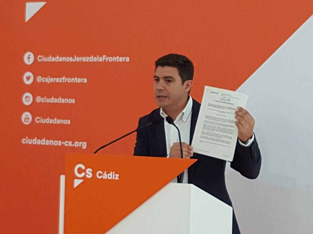 Cs critica la «falta de capacidad» de la Junta de Andalucía para gestionar la sanidad