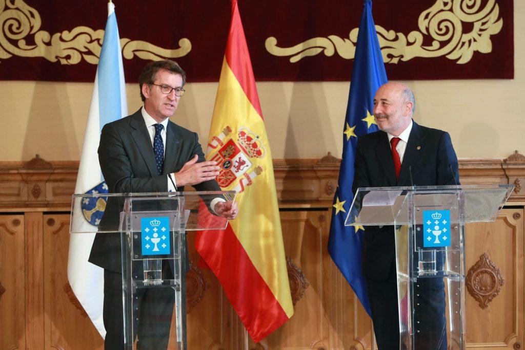 El delegado del Gobierno en Galicia pide a la Xunta que apoye los objetivos de financiación del Ejecutivo central