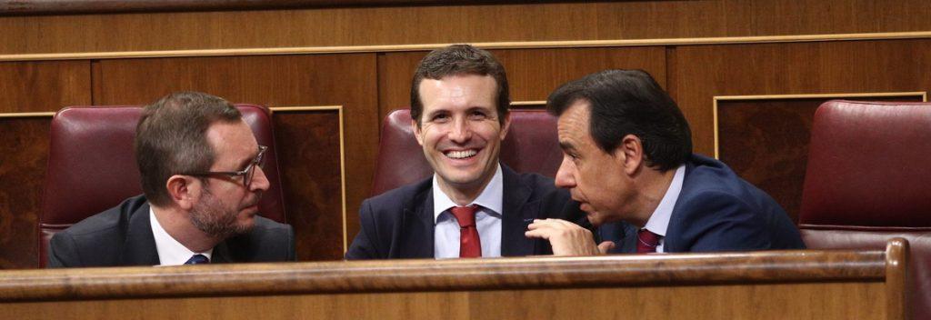 Maillo, convencido de que Casado podrá «coser» y tapar las «grietas» del partido: «Todos estamos detrás de él»