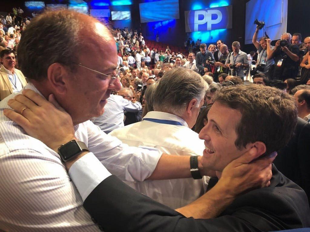 Monago felicita a Pablo Casado por «renovar la ilusión y el optimismo» del partido