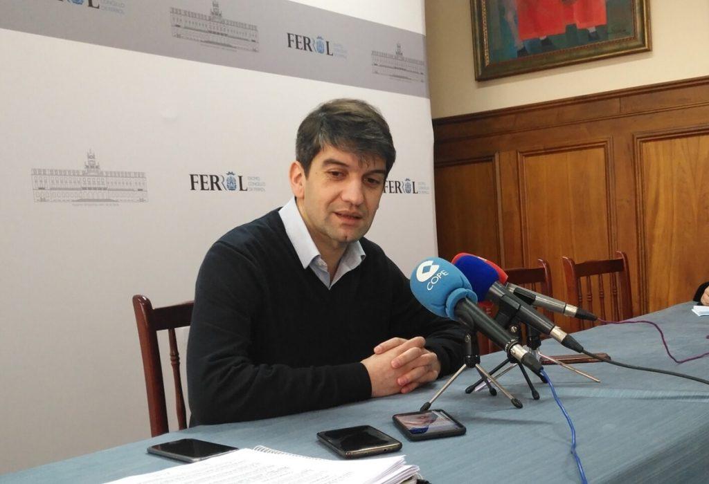 El alcalde de Ferrol remarca que «no permitirán» que los restos de Franco se trasladen al panteón de la ciudad