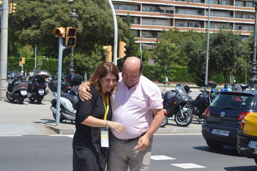 Ortuzar (PNV) muestra sus «mejores deseos» a Bonvehí y afirma que Cataluña «necesita un PDeCAT fuerte y unido»