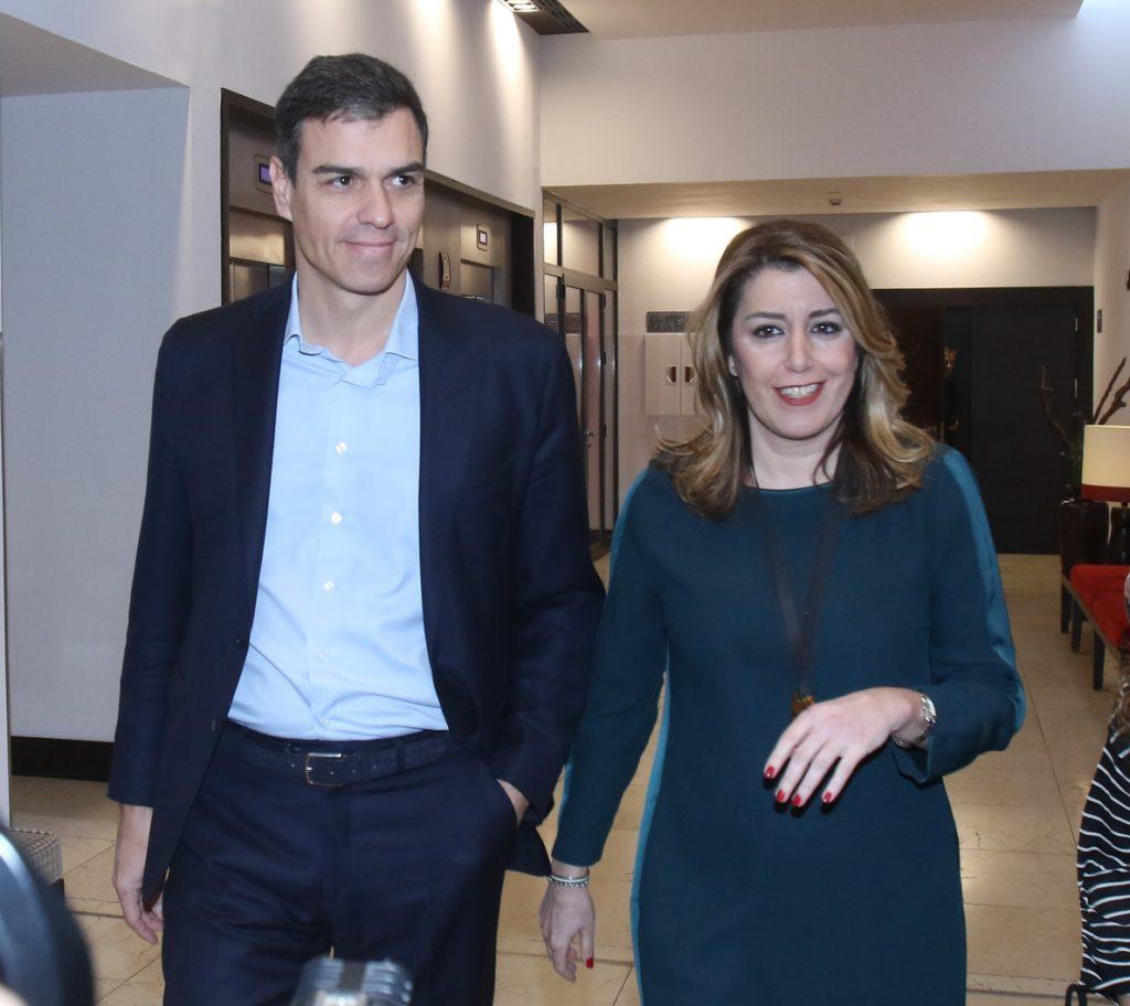 Susana Díaz pedirá a Sánchez este lunes prioridad para la financiación, las infraestructuras y crear empleo en Andalucía
