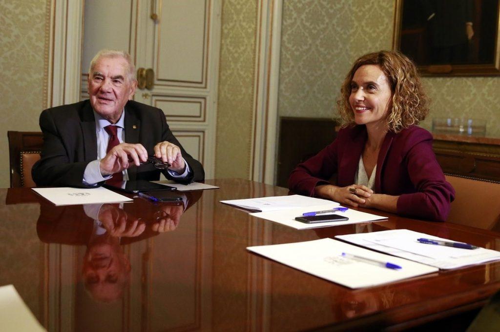 Batet espera concretar con Maragall los puntos a tratar en la comisión bilateral Estado-Generalitat