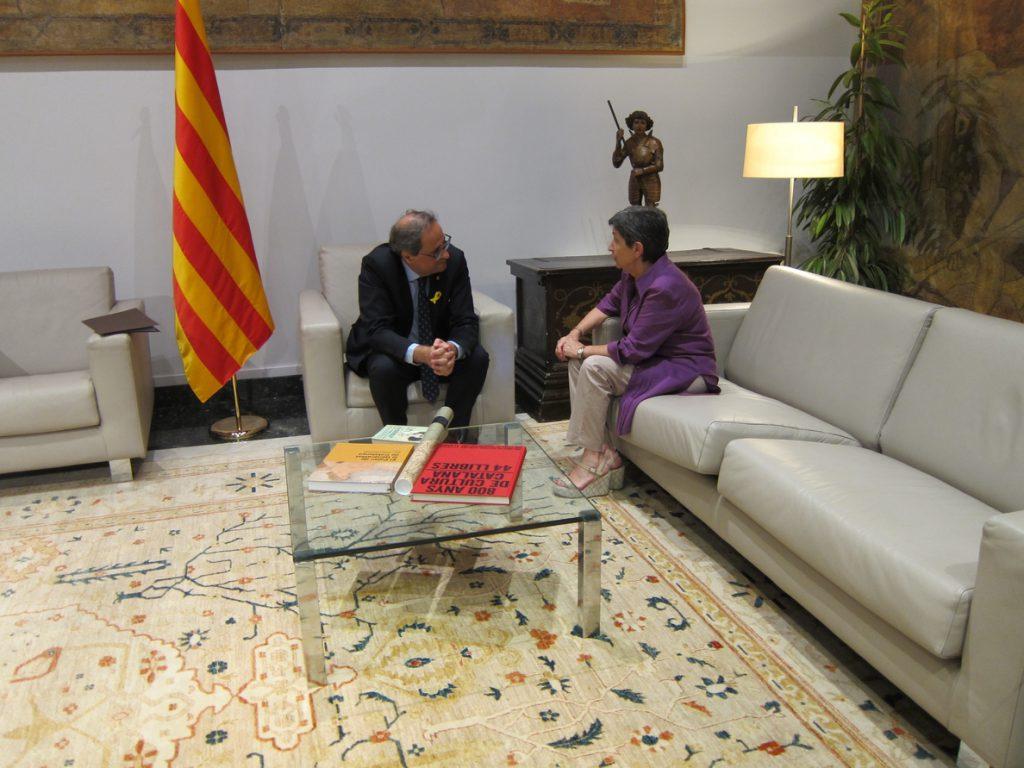 La portavoz del Govern catalán avisa a Sánchez de que los votos independentistas son «cruciales» para su estabilidad