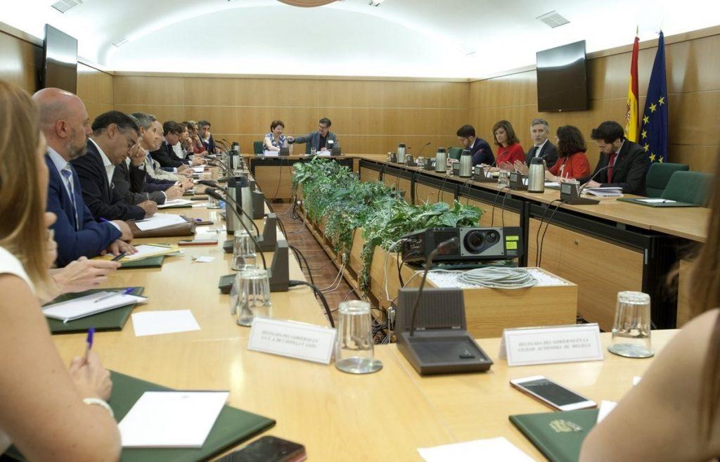 Grande-Marlaska aborda con los delegados de Gobierno avances en la coordinación de las políticas de seguridad
