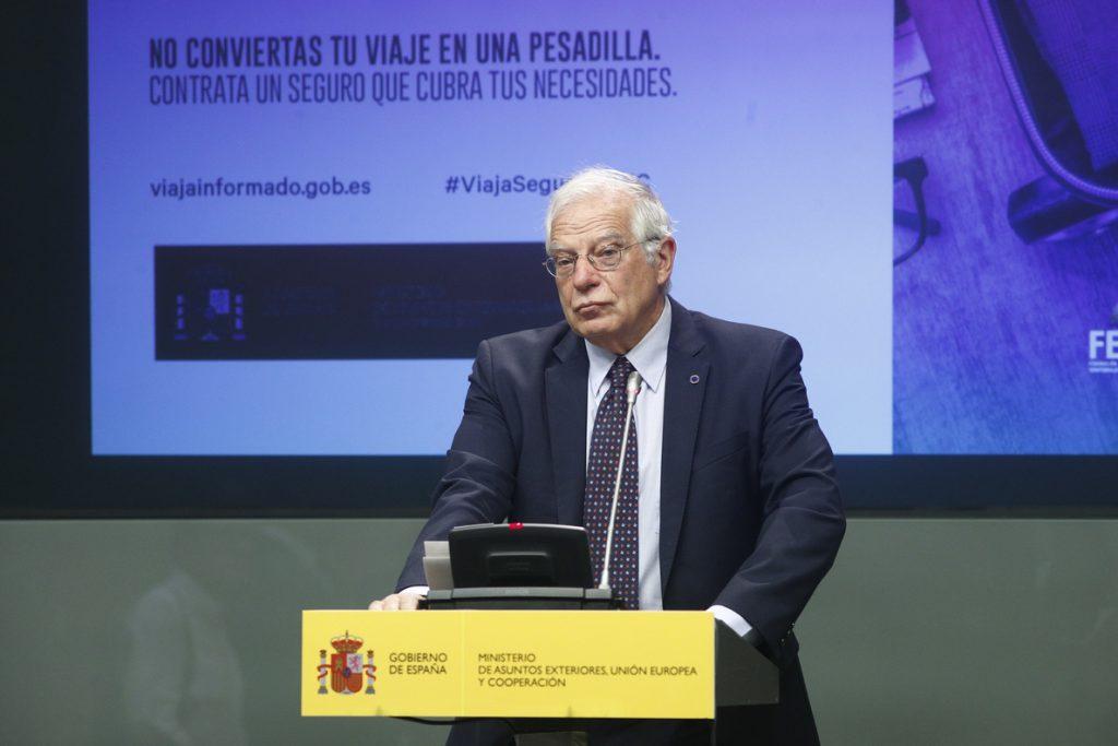 Maragall se ha comprometido con Borrell a informar con antelación de las aperturas de 'embajadas', según Exteriores