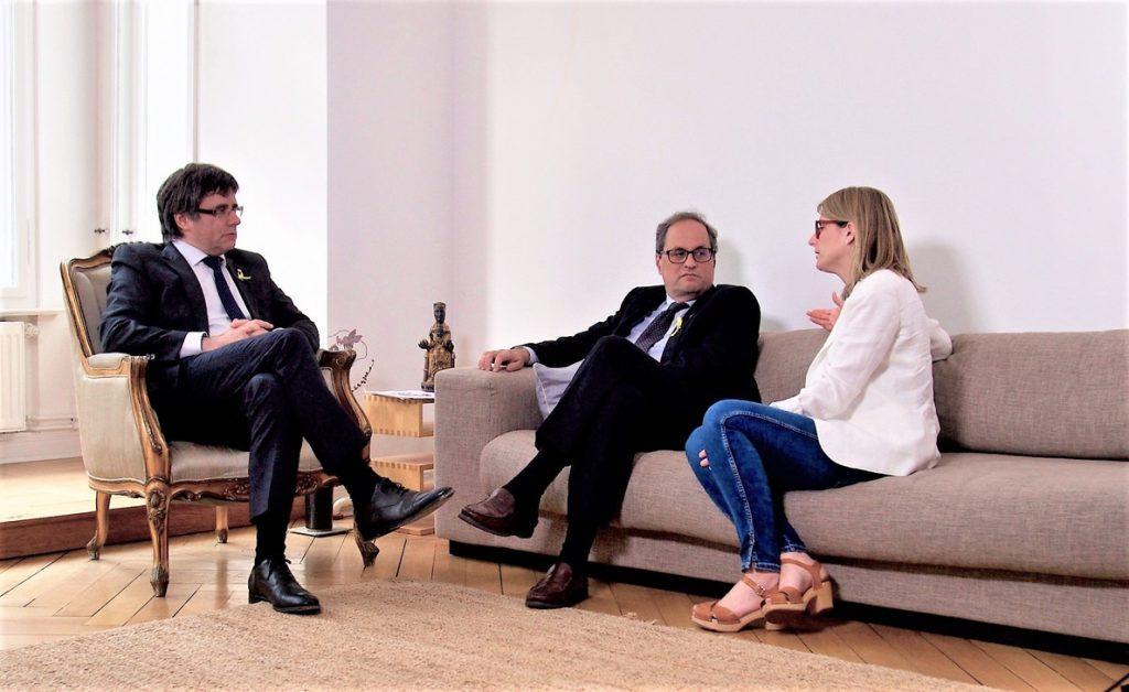 Torra y JxCat recibirán a Puigdemont el sábado en Bélgica a su regreso de Alemania