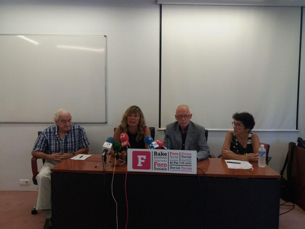 Colectivo Presos ETA  expresa su «absoluta y sincera disposición» a reconocer el daño causado para su acercamiento