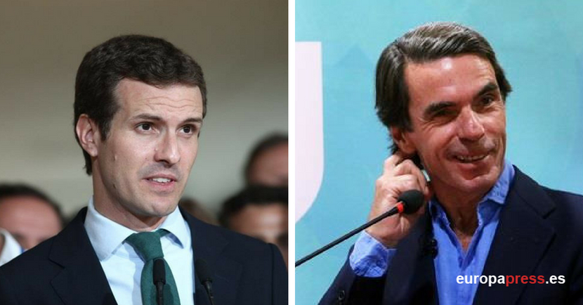 Garrido cree que Aznar fue un «grandísimo presidente» y que podrá dar consejos «de utilidad» a Casado